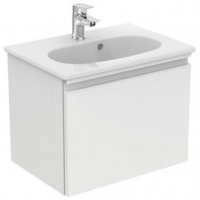 Шкаф за мивка 50 см Tesi бял гланц Т0045OV
