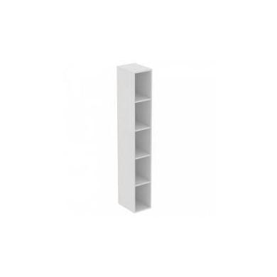 Шкаф-колона без врата Adapto T4307WG бял гланц