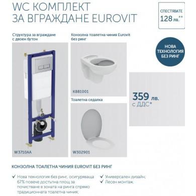 Промо комплект за вграждане Eurovit