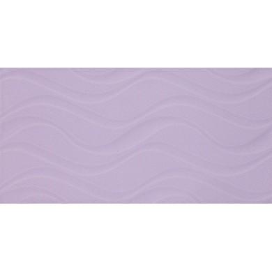 Фаянс 25х50 Изола вълни лилава