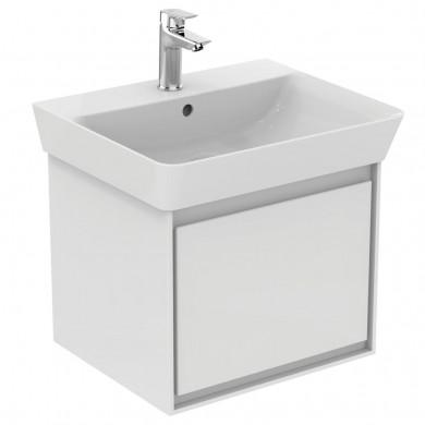 Шкаф за мивка 50 см бял лак Connect Air E0817B2