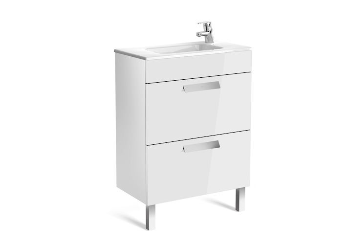 Долен шкаф Debba Compact бял гланц 851564806 60см