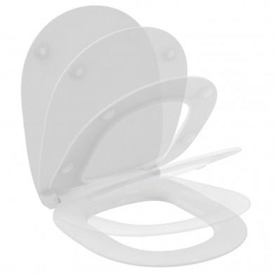 Ултратънка тоалетна седалка с плавно затваряне Connect E772401
