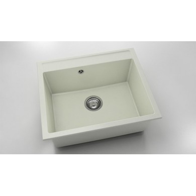 Единична мивка 60х51 см от полимермрамор 227