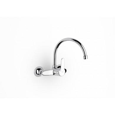 Стенен смесител за кухненска мивка Victoria с въртящ се горен чучур A5A7625C00