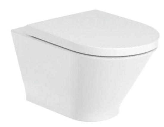 Конзолна тоалетна чиния Gap Round Rimless A3460NL000
