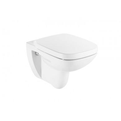 Конзолна тоалетна чиния Debba A346997000 с капак плавно затваряне A8019D2004