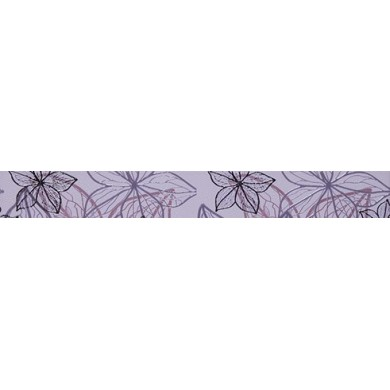 Фриз 6х50 Изола цветя лилав