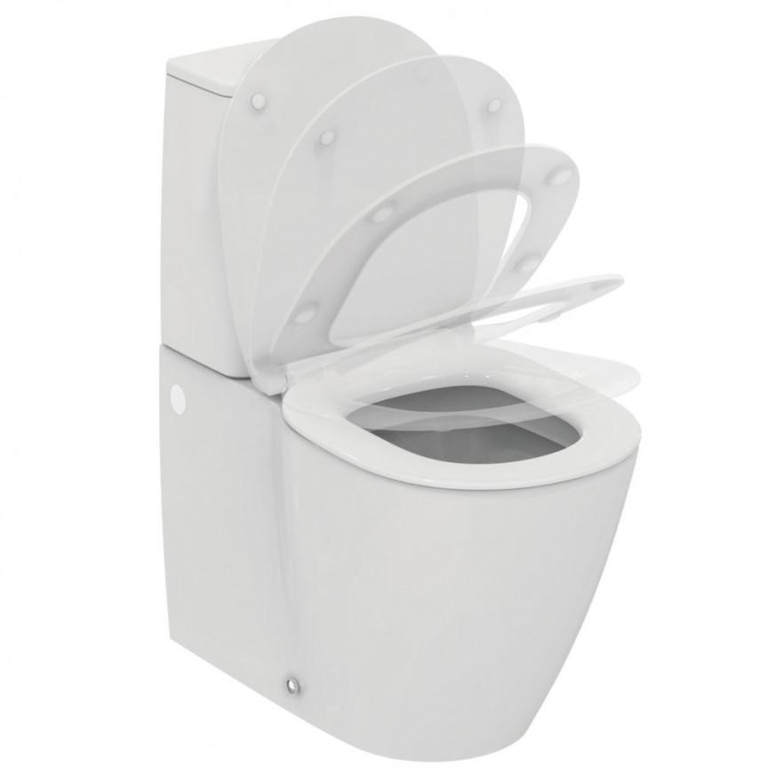 Моноблок Connect Scandinavian AquaBlade  до стена с ултра тънка седалка плавно затваряне