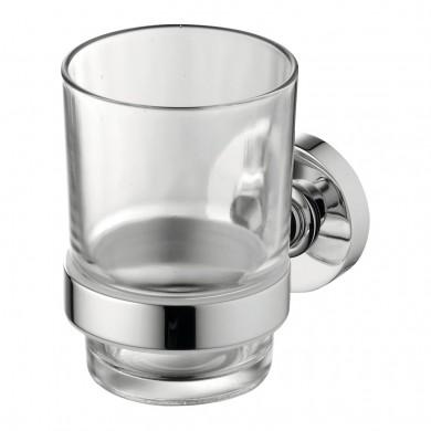 Стъклена чаша IOM прозрачно стъкло A9121AA