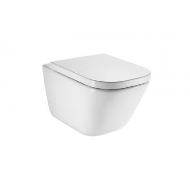Конзолна тоалетна чиния Gap Clean Rim A34647L000 с капак плавно затваряне