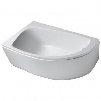 Асиметрична вана за вграждане или за монтаж с панели лява160x90см Playa T963501