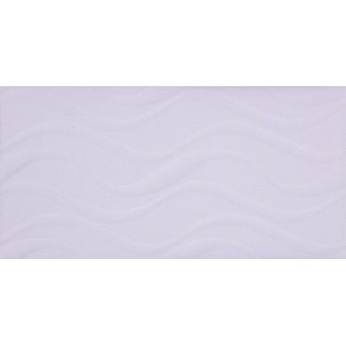 Фаянс 25х50 Изола вълни светло лилава