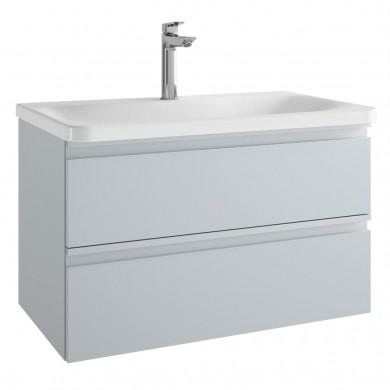 Шкаф за мивка 80 см Tesi светлосив гланц Т0051PH