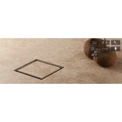 Подов сифон 150/150 Ceramic за вграждане на плочка