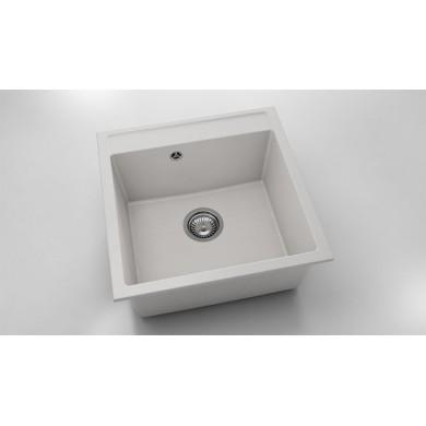 Единична мивка 51х51 см от фатгранит 225