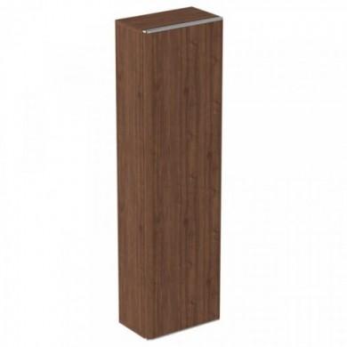 Шкаф-колона с врата Adapto T4306PA тъмен орех нисък
