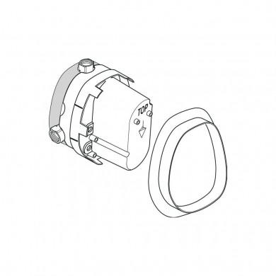 Индивидуален термостат за вграждане комплект 1 A2353NU