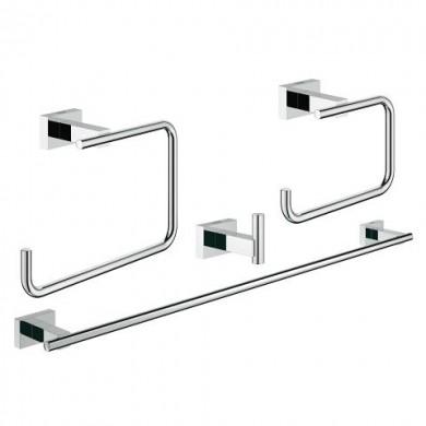Комплект аксесоари за баня Essentials Cube 4 в 1  40778001