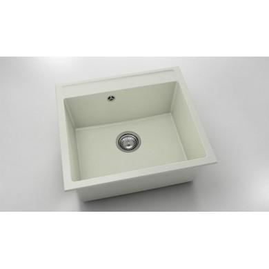 Единична мивка 56х51 см от полимермрамор 226
