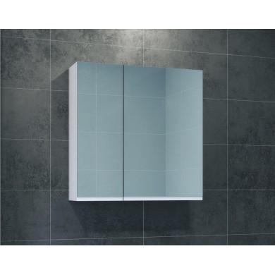 Горен шкаф с огледало Меги 60см