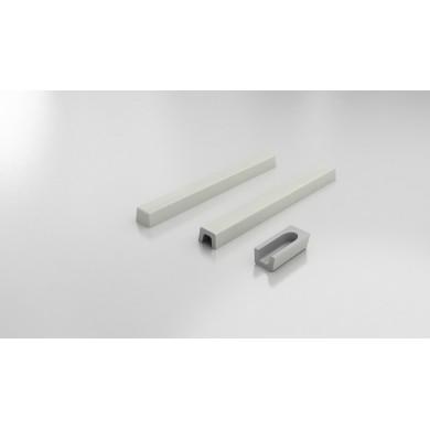 Праг права нестандартни размери до 140см полимермрамор 5101140