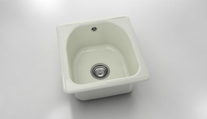 Единична мивка от полимермрамор 217