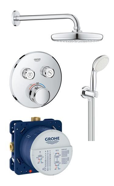Термостат Grohtherm SmartControl+New Tempesta комплект за вграждане