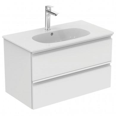 Шкаф за мивка 80 см Tesi бял гланц  T0051OV