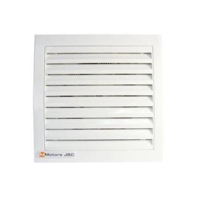 Вентилатор ММ100 квадрат с клапа 1047