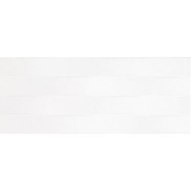 Фаянс 20х50 Ардос вълни бял