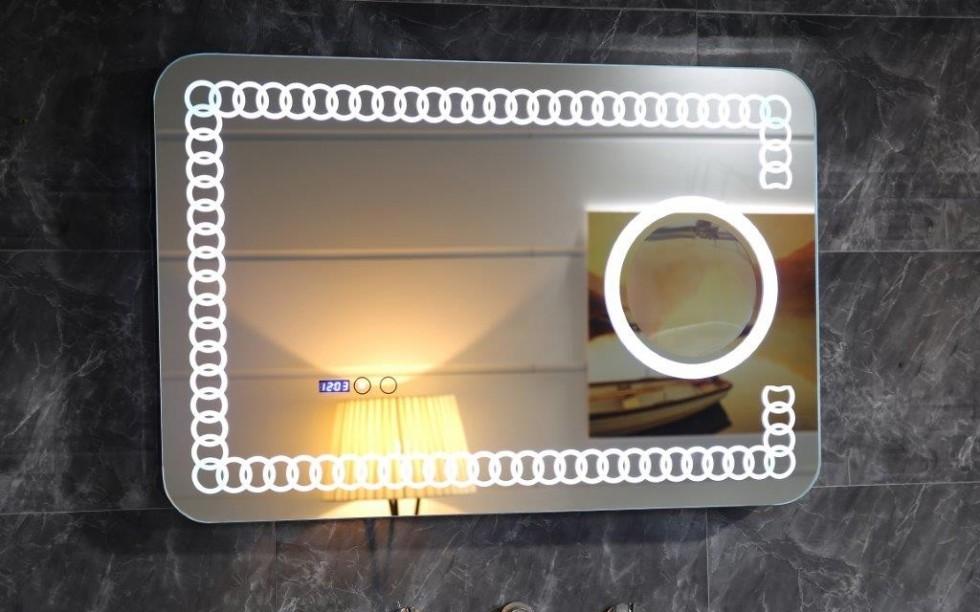 Огледало ICLC1790 90x60см touch screen LED осветление