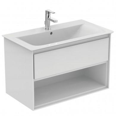 Шкаф за мивка 80 см бял лак Connect Air E0827B2