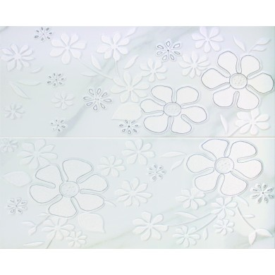Декор 47x58 Senses white комплект от 2 части