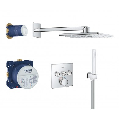 Термостат Grohtherm SmartControl+Rainshower комплект за вграждане 34706000
