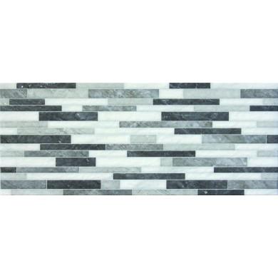 Фаянс 23,5x58 Muro reale black