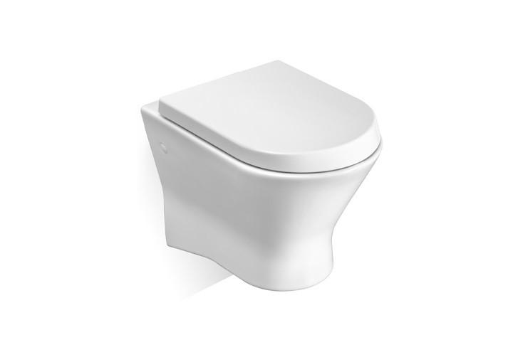 Конзолна тоалетна чиния Nexo A346640000 с капак плавно затваряне A80164A004