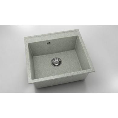 Единична мивка 56х51 см от граниксит 226