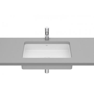 Умивалник за вграждане под плот Inspira  60.5 см бял мат A327535620