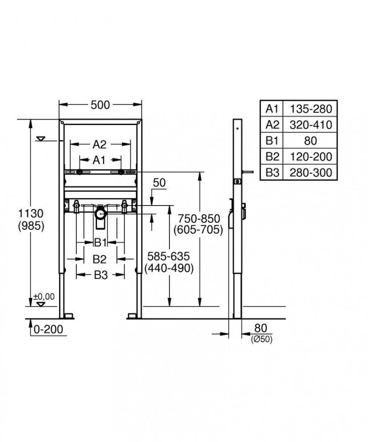 Rapid SL за умивалник 39052000