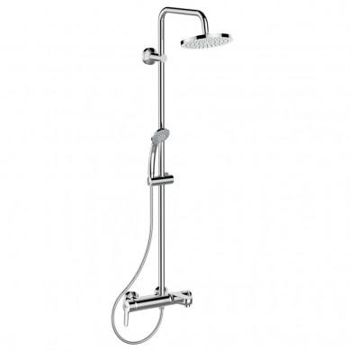 Стенна едноръкохваткова вана/душ система Idealrain B1097AA