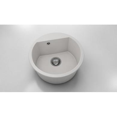 Кръгла кухненска мивка от фатгранит 223
