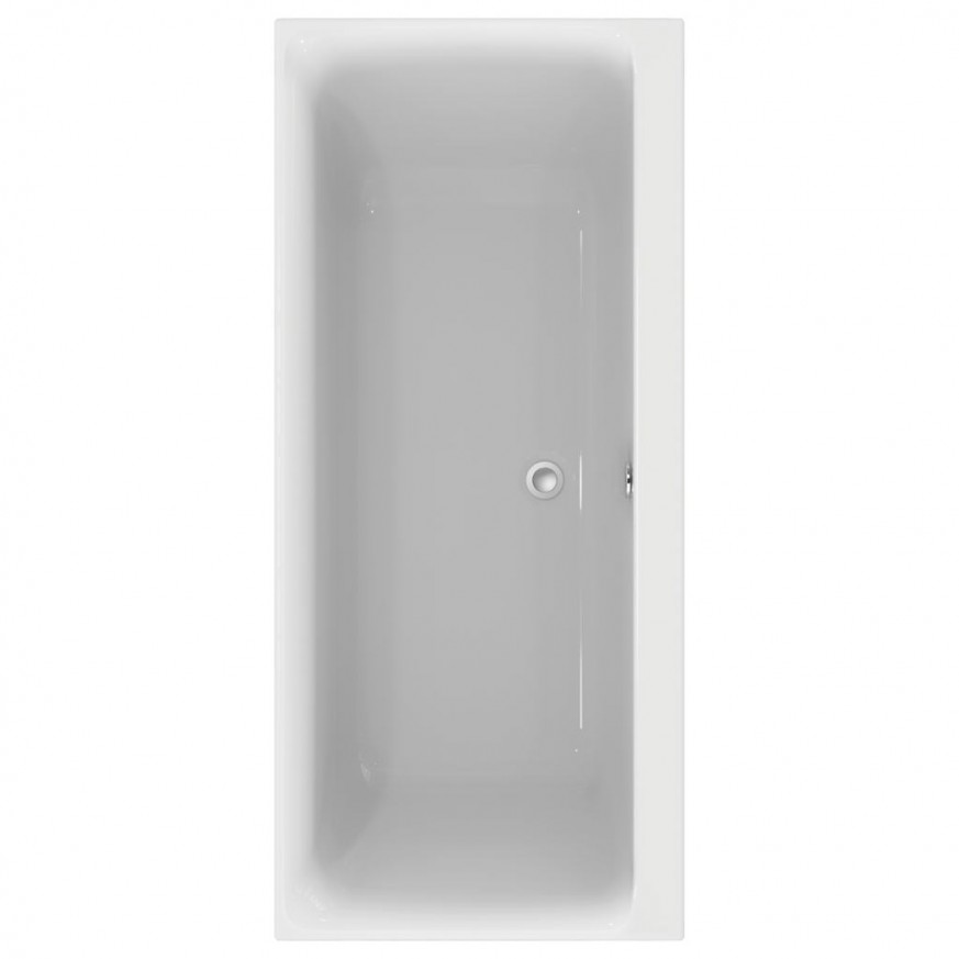 Правоъгълна двустранна вана за вграждане 180x80 cm Connect Air E106701