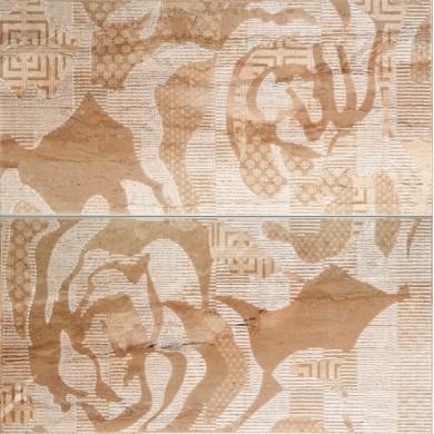 Декор 50х50 Бали Роза 2 части