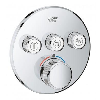 Термостат за вграждане Grohtherm SmartControl 29121000 с 3 извода