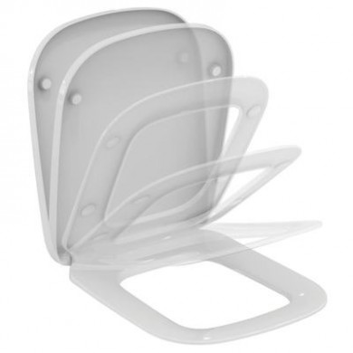 Тоалетна седалка Esedra с плавно затваряне T318101