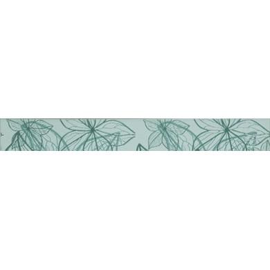 Фриз 6х50 Изола цветя зелен