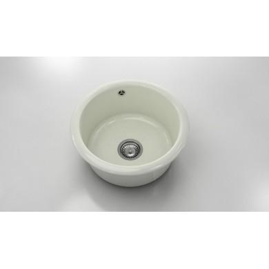 Кръгла кухненска мивка от  полимермрамор 206