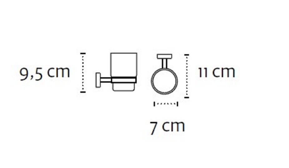 Чаша с държач Modern 2501