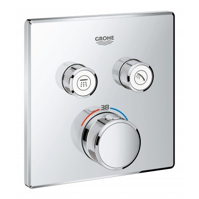 Термостат за вграждане за вана/душ Grohtherm SmartControl 29124000